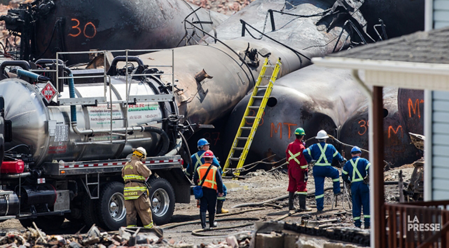 Ingénierie, inspections et supervision de construction suite à l'accident au Lac Mégantic