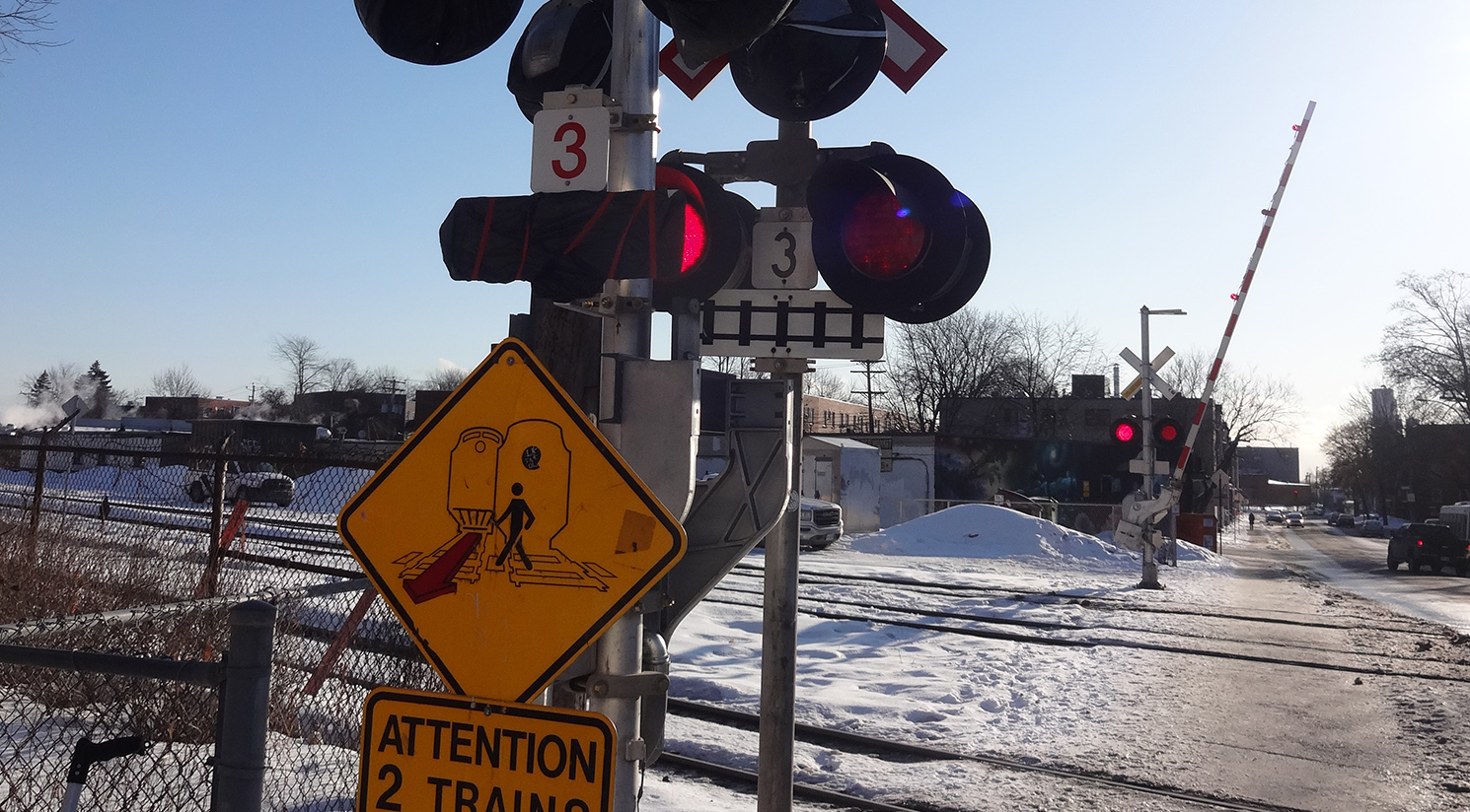 Transportation Study for the Elmhurst Avenue Grade Crossing in Montreal
