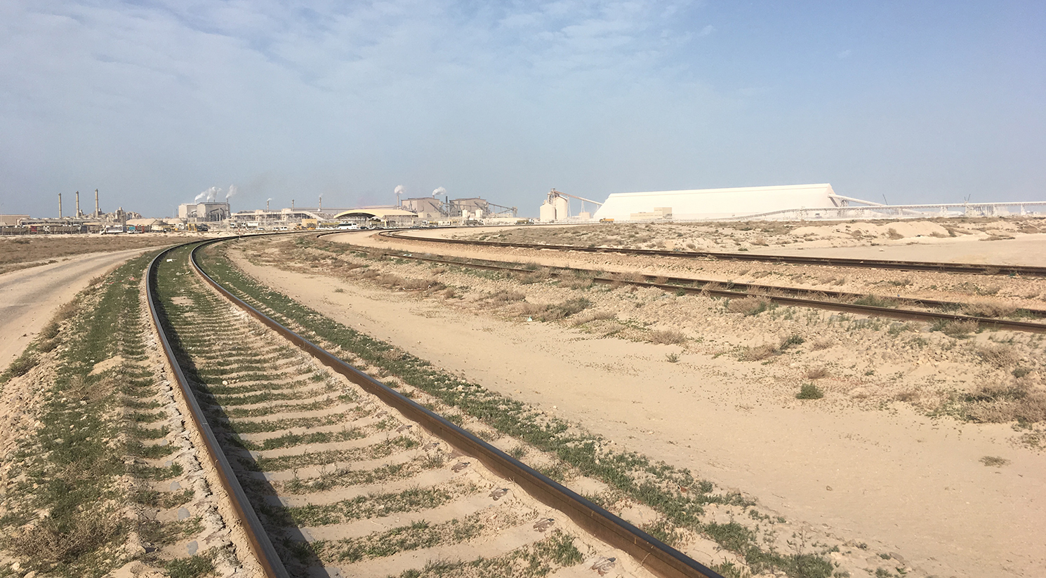 Design of Temporary Tracks at Ras Al Khair, KSA