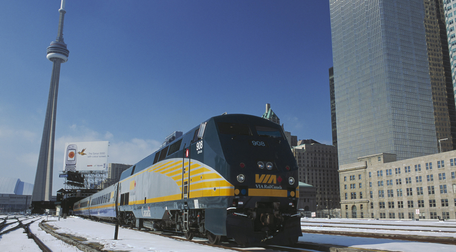 VIA Rail Windsor-Quebec High Frequency Rail Project