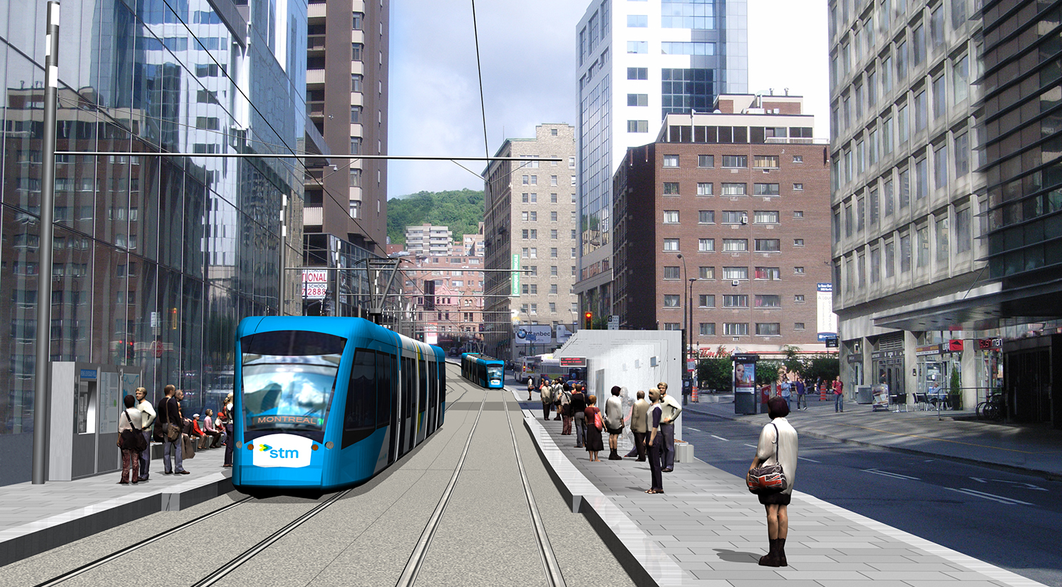 Montreal Tramway Project