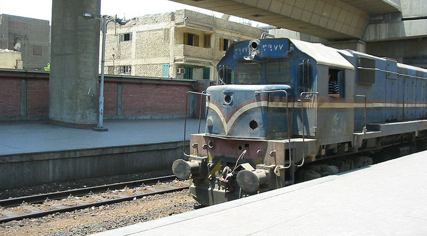 Prestation de services à Egyptian National Railway (ENR) en entretien de locomotives